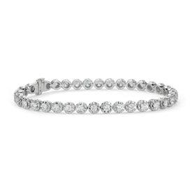 Bracelet diamants Colin Cowie en or blanc 14carats (3ct. pt.)