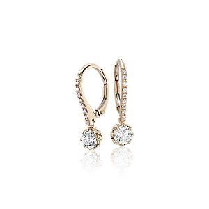 NEW Colin Cowie Diamond Drop Earring in 14k Yellow Gold (3/4 ct. tw.)