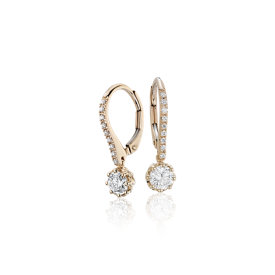 Colin Cowie Diamond Drop Earring in 14k Yellow Gold (3/4 ct. tw.)