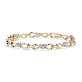 Colin Cowie Diamond Infinity Bracelet in 14k Yellow Gold (3/4 ct. tw.)