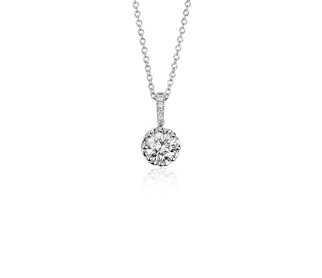 Colin Cowie Diamond Pendant in 14k White Gold (3/4ct tw)