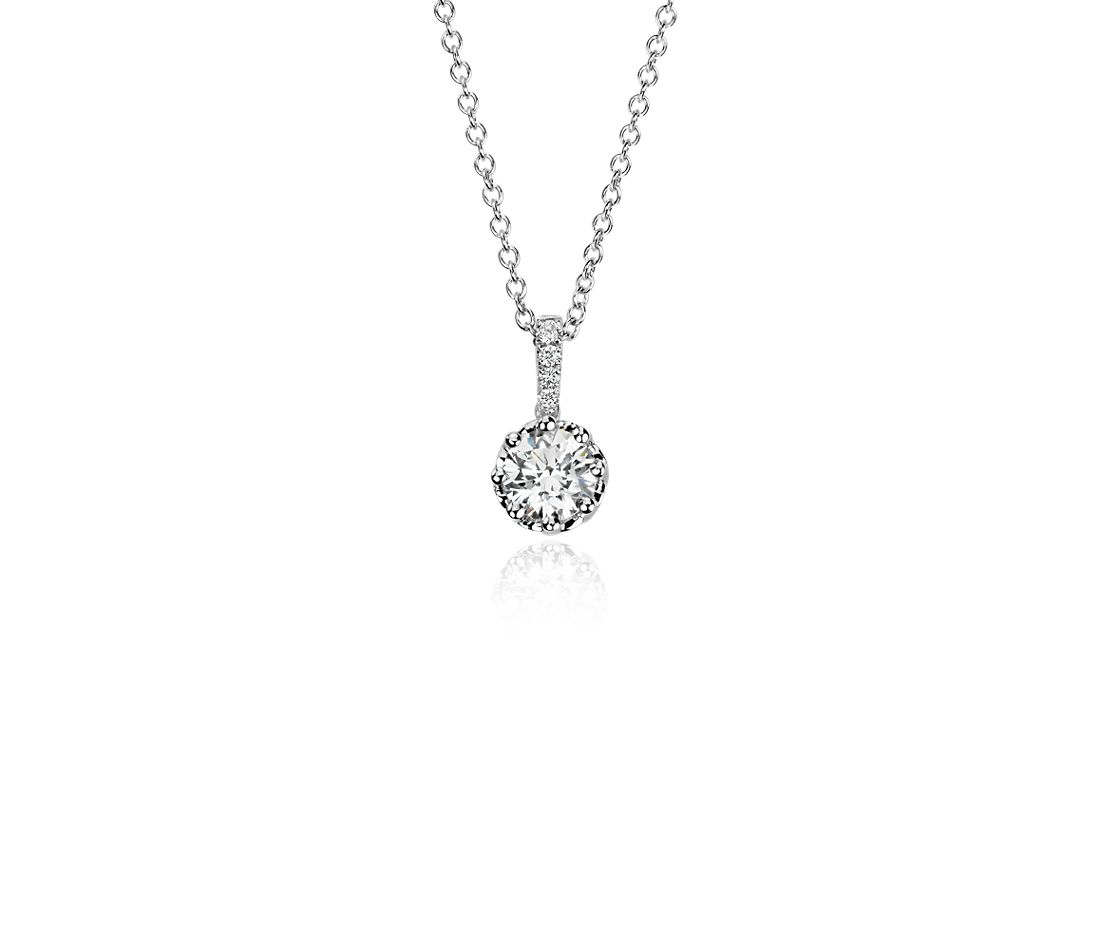 Colin Cowie Diamond Pendant in 14k White Gold (1/2 ct. tw.)