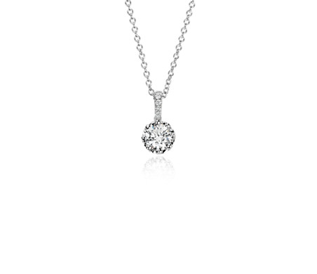 Colin Cowie Diamond Pendant in 14k White Gold (1/2ct tw )