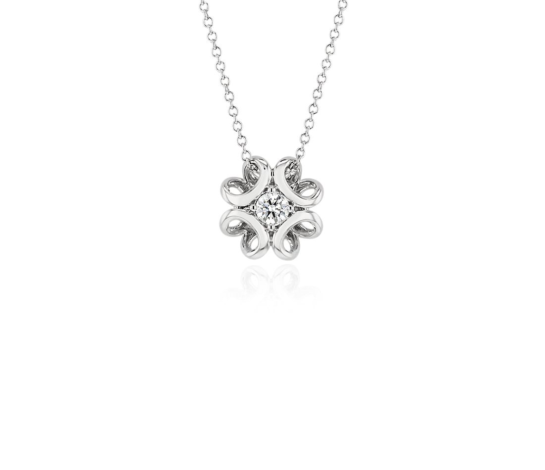 38d52c54a023 Colin Cowie Diamond Pendant in 14k White Gold (1 5 ct. tw.)