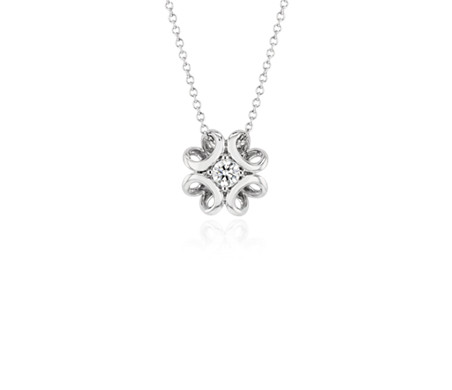 Colin Cowie Diamond Pendant in 14k White Gold (1/5 ct. tw.)