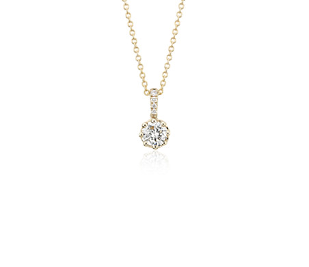 Colin Cowie Diamond Pendant in 14k Yellow Gold (1/2 ct. tw.)