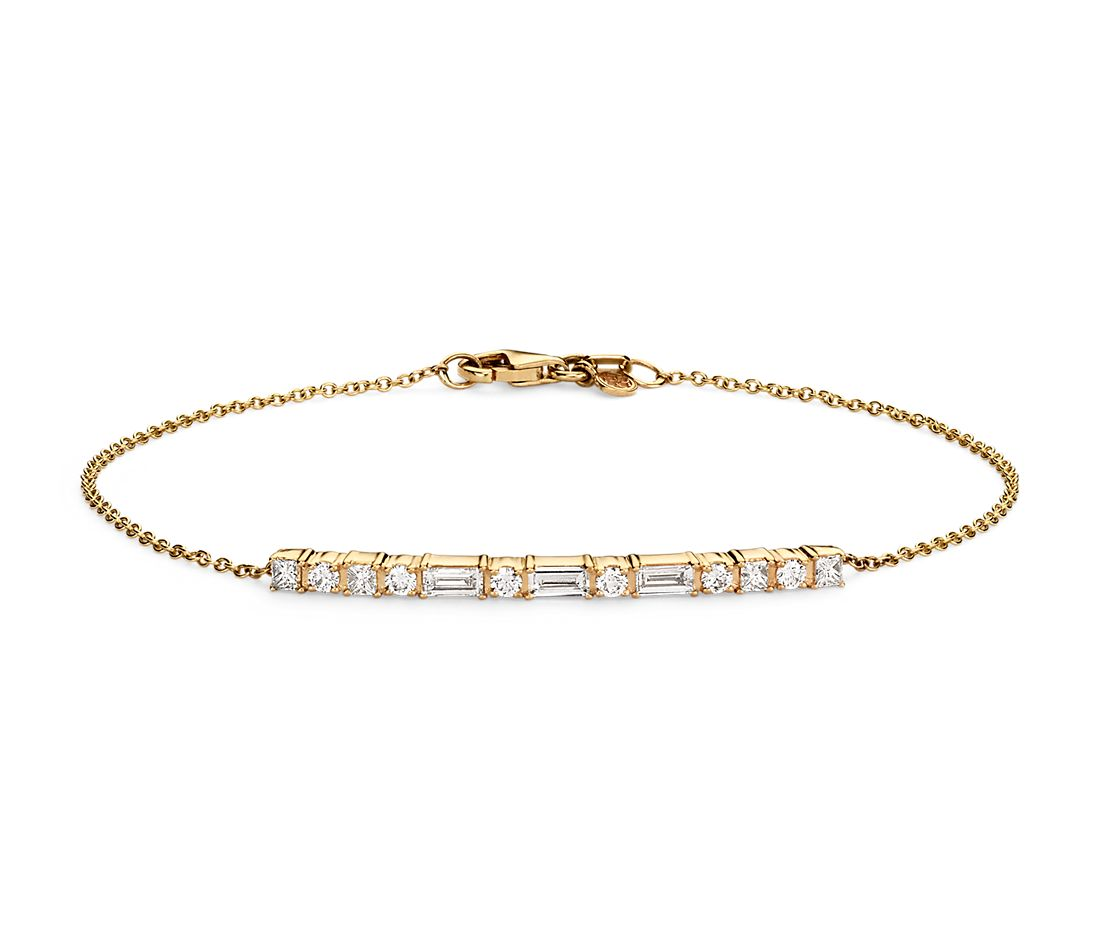 Colin Cowie Dot Dash Bracelet in 14k Yellow Gold (3/4 ct. tw.)