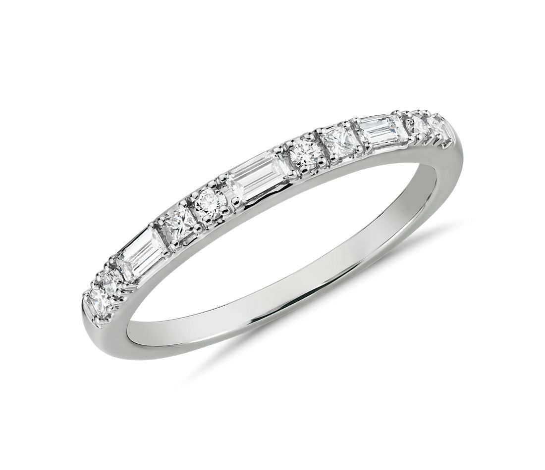 Colin Cowie Dot Dash Diamond Ring in Platinum (1/4 ct. tw.)