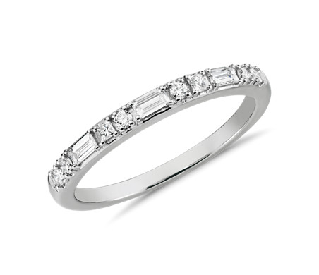Colin Cowie Dot Dash Ring in Platinum