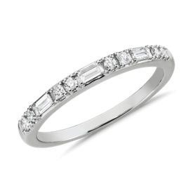NEW Colin Cowie Dot Dash Diamond Ring in Platinum (1/4 ct. tw.)