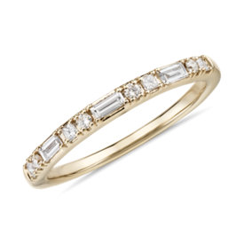 NEW Colin Cowie Dot Dash Diamond Ring in 18k Yellow Gold (1/4 ct. tw.)