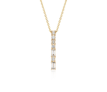 Colin Cowie Dot Dash Pendant in 14k Yellow Gold (3/8 ct. tw.)