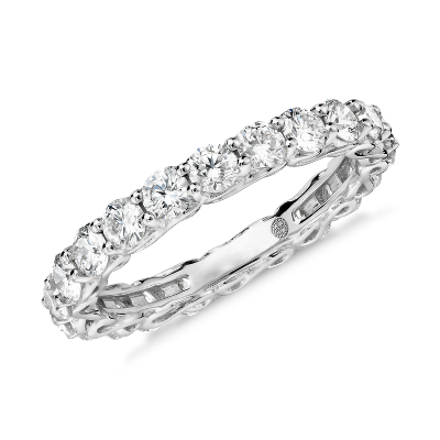 Colin Cowie Infinity Diamond Eternity Ring in Platinum 2 ct tw