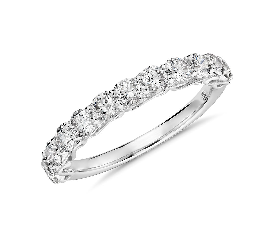 colin cowie infinity ring in platinum 1 ct tw