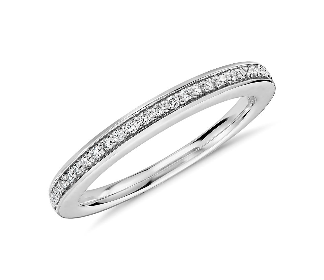 Colin Cowie Pavé Diamond Ring in Platinum (1/10 ct. tw.)