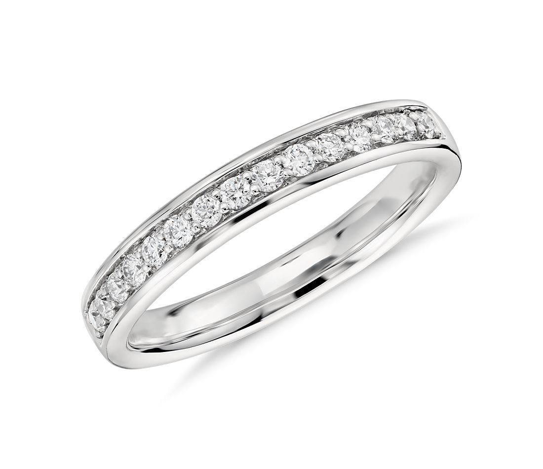 Colin Cowie Pavé Diamond Ring in Platinum (1/4 ct. tw.)