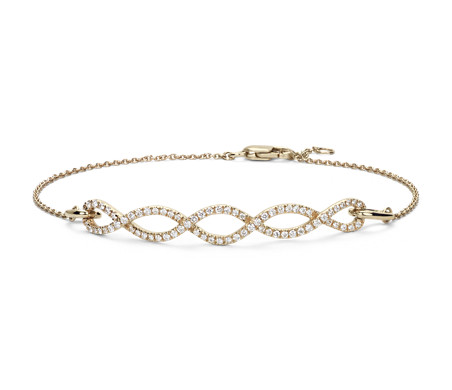 Colin Cowie Eternal Twist Bracelet in 14k Yellow Gold