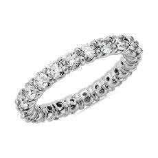 Comfort Fit Round Brilliant Diamond Eternity Ring in Platinum (2 ct. tw.)
