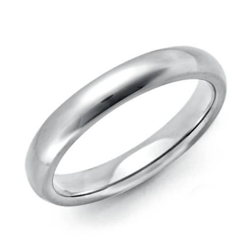 Comfort Fit Wedding Ring In Platinum 3mm