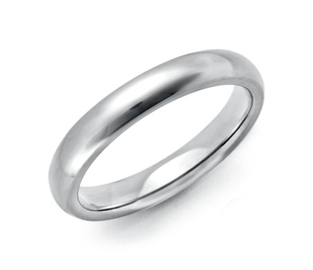 Comfort Fit Wedding Ring in Platinum (3mm)