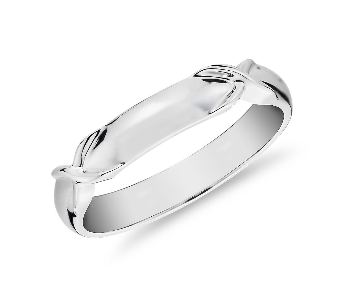 Icon Male Ring in Platinum (3.5mm)