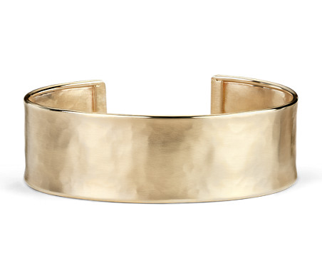14k Italian Gold Cuff Bracelet
