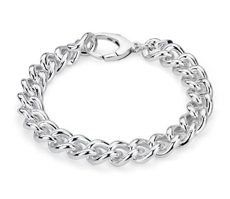 925 纯银锁链式手链