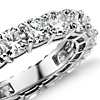 Cushion Cut Diamond Eternity Ring in Platinum (6 ct. tw.)