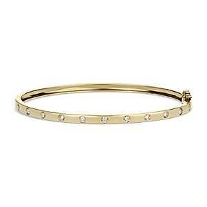 Diamond Bangle in 14k Yellow Gold (1/2ct tw)