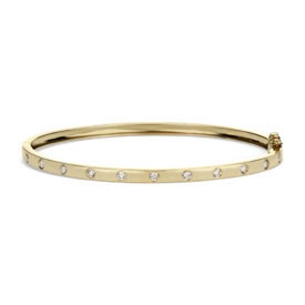 Diamond Bangle in 14k Yellow Gold (1/2 ct. tw.)