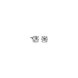 Diamond Stud Earrings in 14k White Gold (1/4 ct. tw.)