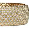 Radiance Pavé Diamond Bangle in 18k Yellow Gold (16.88 ct. tw.)