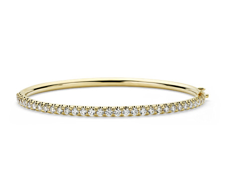 product narrow kors jewelry braceletgoldtone gallery bangle bracelet michael hinged lyst gold metallic goldtone in
