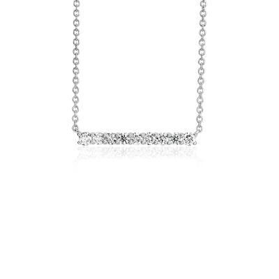 collier 3 diamants
