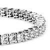 Blue Nile Signature Ideal Princess Cut Diamond Tennis Bracelet in Platinum (10 ct. tw.)