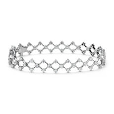Blue Nile Studio Galaxy Diamond Bracelet in 18k White Gold (2.2 tc. tw)