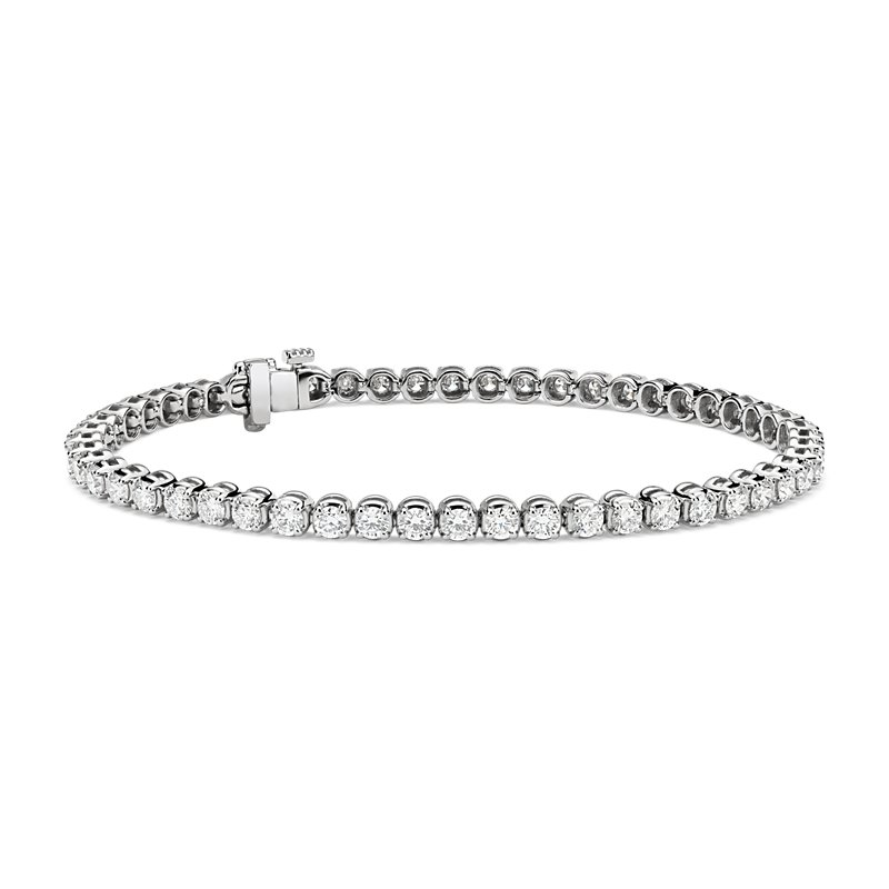 Premier Diamond Tennis Bracelet in Platinum (4 ct. tw.)