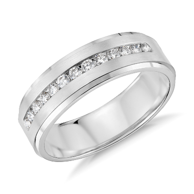 Mens Diamond Wedding Rings Blue Nile