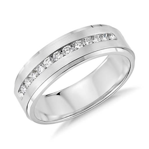 Carat Tw Diamond Ring Platinum Band