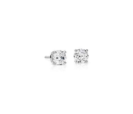 Premier Diamond Earrings in Platinum (1 1/2 ct. tw.)
