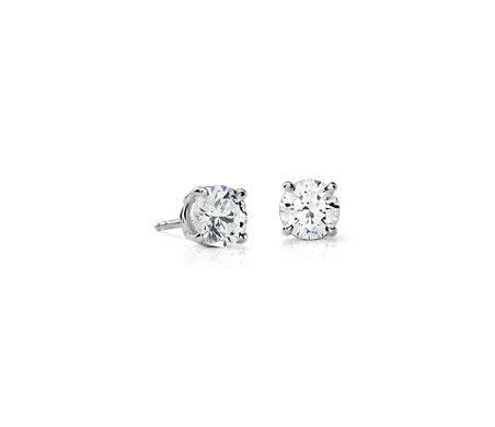 Premier Diamond Earrings in Platinum (2 ct. tw.)