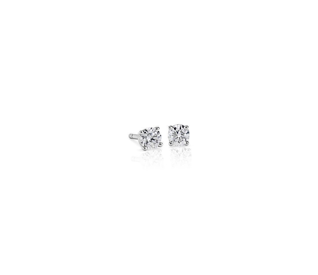 Premier Diamond Stud Earrings in Platinum - F / VS (1/3 ct. tw.)