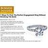 Business Insider - 7 formas de elegir un anillo de compromiso