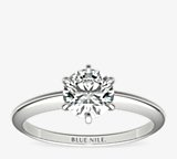 Classic Six-Claw Solitaire Engagement Ring