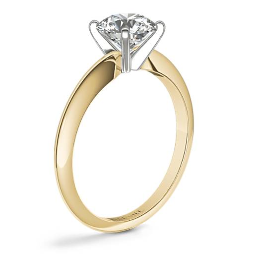 Classic Four Claw Solitaire Engagement Ring