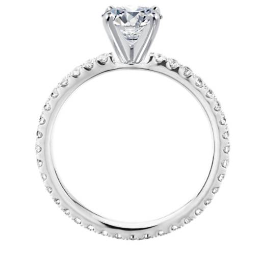 Eternity Diamond Engagement Ring