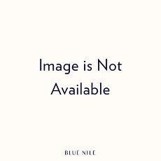 Aretes tipo argolla de eternidad con diamantes en oro blanco de 18 k (2 qt. total)- G/SI