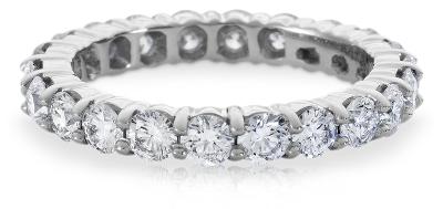 Diamond Eternity Ring in Platinum 2 ct tw Blue Nile