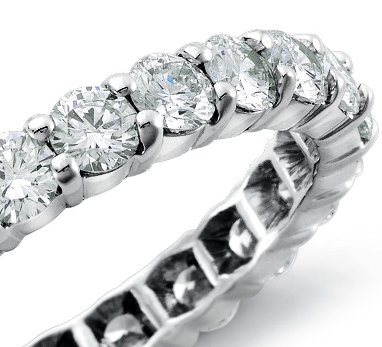 Diamond Eternity Ring in Platinum (2 ct. tw.)