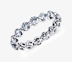 Floating Diamond Eternity Ring in Platinum (2 1/5 ct. tw.)